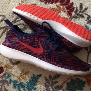 Nike red and blue